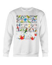 Parrot music Crewneck Sweatshirt thumbnail