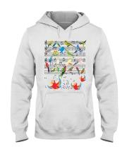 Parrot music Hooded Sweatshirt thumbnail