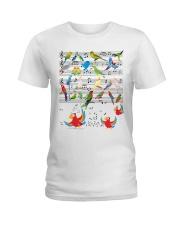 Parrot music Ladies T-Shirt front