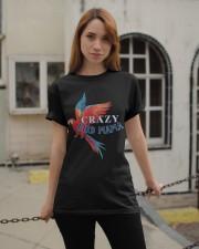 Crazy bird mama Classic T-Shirt apparel-classic-tshirt-lifestyle-19