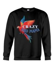 Crazy bird mama Crewneck Sweatshirt thumbnail