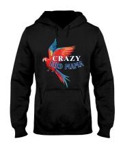 Crazy bird mama Hooded Sweatshirt thumbnail