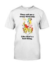 Crazy lady Classic T-Shirt thumbnail