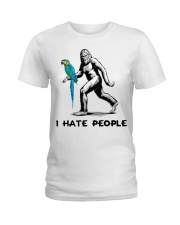 I hate people Ladies T-Shirt front