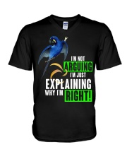 Im just explaining why im right V-Neck T-Shirt thumbnail