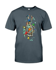 Birds and music Classic T-Shirt thumbnail