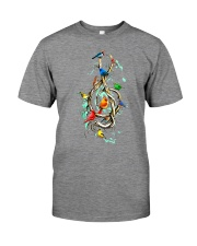 Birds and music Premium Fit Mens Tee thumbnail
