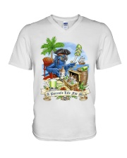 A parrot life V-Neck T-Shirt thumbnail
