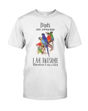 Birds are awesome Premium Fit Mens Tee thumbnail