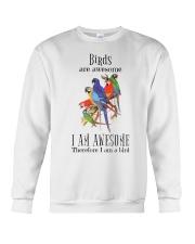 Birds are awesome Crewneck Sweatshirt thumbnail
