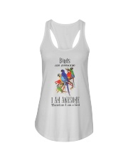 Birds are awesome Ladies Flowy Tank thumbnail