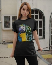 God made a parrot Classic T-Shirt apparel-classic-tshirt-lifestyle-19