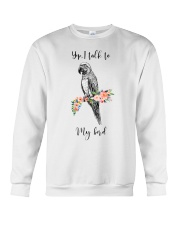 Yep i talk to my bird Crewneck Sweatshirt thumbnail