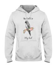 Yep i talk to my bird Hooded Sweatshirt thumbnail