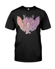 Dark Angel Evil Queen Satanic Halloween Party Classic T-Shirt thumbnail