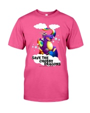 SAVE THE DRAGONS Classic T-Shirt front