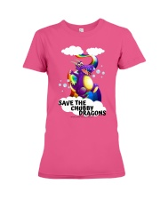 SAVE THE DRAGONS Premium Fit Ladies Tee thumbnail