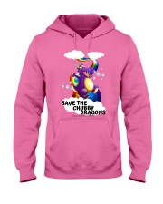 SAVE THE DRAGONS Hooded Sweatshirt tile