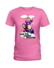 SAVE THE DRAGONS Ladies T-Shirt tile
