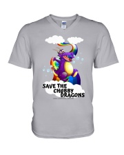 SAVE THE DRAGONS V-Neck T-Shirt thumbnail