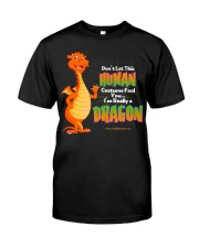 I'm Really a Dragon Classic T-Shirt front
