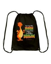 I'm Really a Dragon Drawstring Bag thumbnail