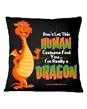 I'm Really a Dragon Square Pillowcase thumbnail
