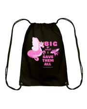 SAVE THEM ALL Drawstring Bag thumbnail