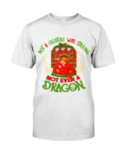 Not a Creature Was Stirring Not Even A Dragon Premium Fit Mens Tee thumbnail