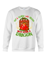 Not a Creature Was Stirring Not Even A Dragon Crewneck Sweatshirt thumbnail