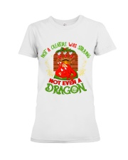 Not a Creature Was Stirring Not Even A Dragon Premium Fit Ladies Tee thumbnail