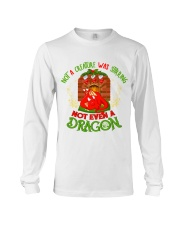 Not a Creature Was Stirring Not Even A Dragon Long Sleeve Tee thumbnail