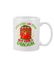 Not a Creature Was Stirring Not Even A Dragon Mug thumbnail