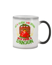 Not a Creature Was Stirring Not Even A Dragon Color Changing Mug thumbnail