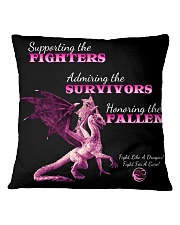 Support Admire Honor Square Pillowcase thumbnail