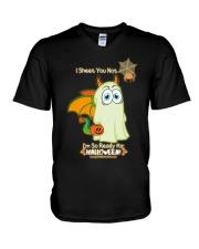So Ready for Halloween V-Neck T-Shirt thumbnail