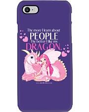 I Love My Dragon Phone Case thumbnail