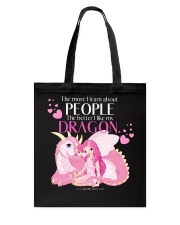I Love My Dragon Tote Bag thumbnail