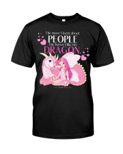 I Love My Dragon Classic T-Shirt front