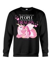 I Love My Dragon Crewneck Sweatshirt thumbnail