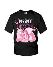 I Love My Dragon Youth T-Shirt thumbnail