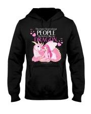 I Love My Dragon Hooded Sweatshirt thumbnail