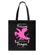 Fight Like A Dragon Tote Bag thumbnail