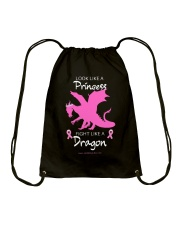 Fight Like A Dragon Drawstring Bag thumbnail