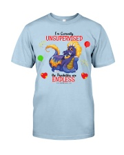 Dragon Unsupervised Classic T-Shirt front