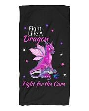 Fight Like A Dragon Beach Towel thumbnail
