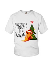 Don't Get Your Tinsel In A Tangle Youth T-Shirt thumbnail