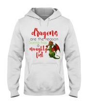 Dragons are Naughty in Really Nice Ways Hooded Sweatshirt thumbnail