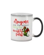 Dragons are Naughty in Really Nice Ways Color Changing Mug thumbnail
