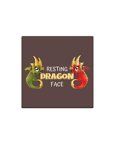 Resting Dragon Face